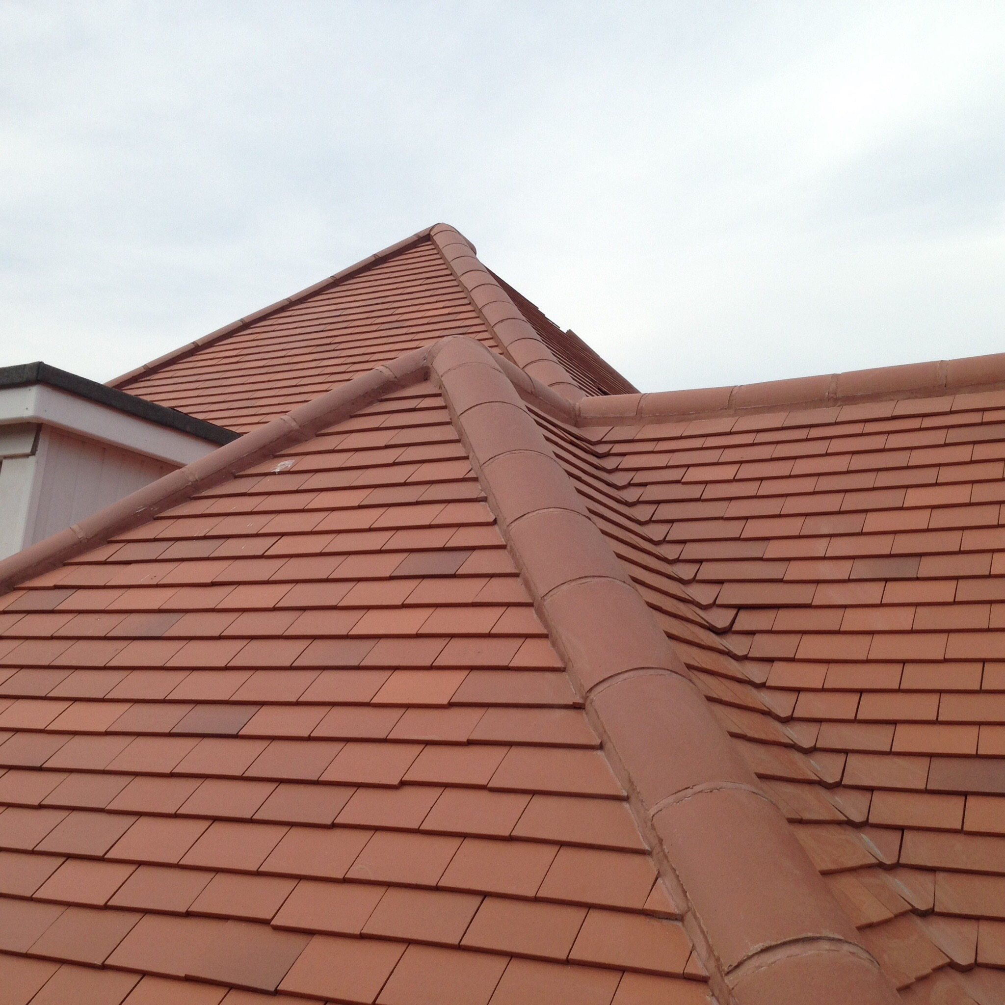 Clay tile re roof soffit and facias replacement sj roofers for Clay roofs